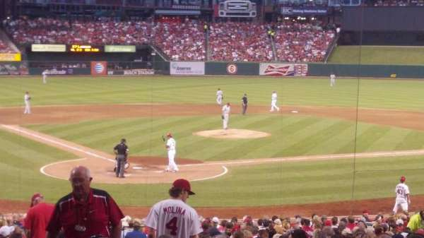 Busch Stadium, section: 148, row: 23, seat: 1