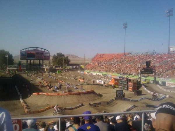 Sam Boyd Stadium, section: 222, row: 24, seat: 18
