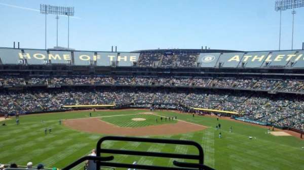 Oakland Alameda Coliseum, section: 239, row: 11, seat: 9