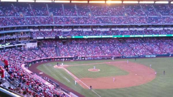 Angel Stadium, section: 536, row: K, seat: 1