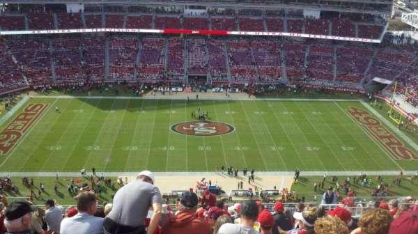 Levi's Stadium, section: 412, row: 18, seat: 12