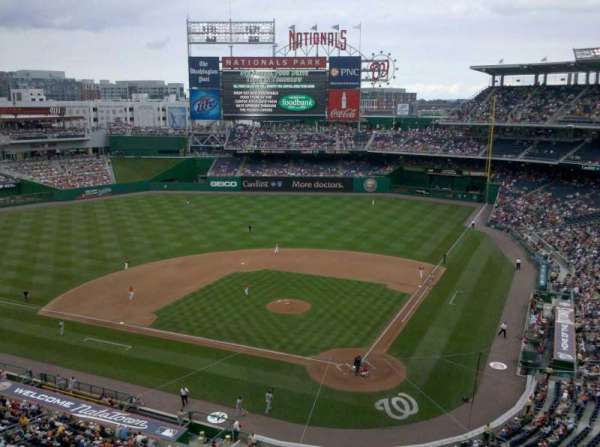Nationals Park, section: 211, row: A