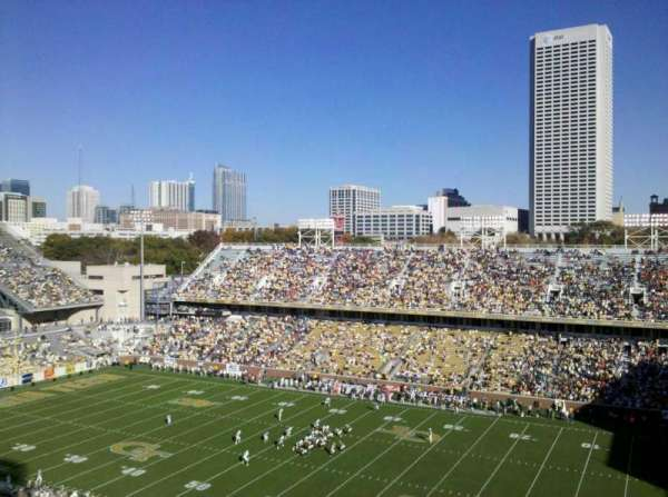 Bobby Dodd Stadium, section: 202