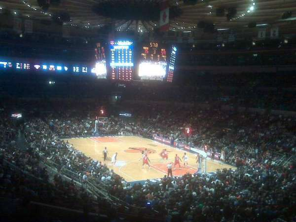 Madison Square Garden, section: 120