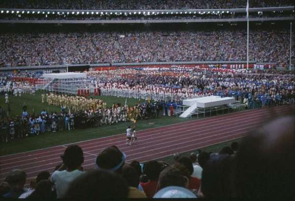 Olympic Stadium, Montreal, section: H, row: 11, seat: 8