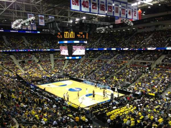 The Palace of Auburn Hills, section: 211, row: 1, seat: 13