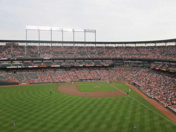 Oriole Park at Camden Yards, section: 386, row: 8, seat: 2