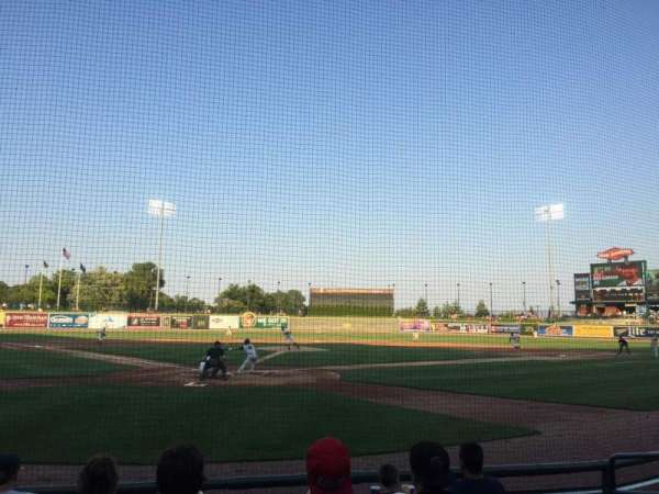 Dow Diamond, section: 108, row: 6, seat: 11