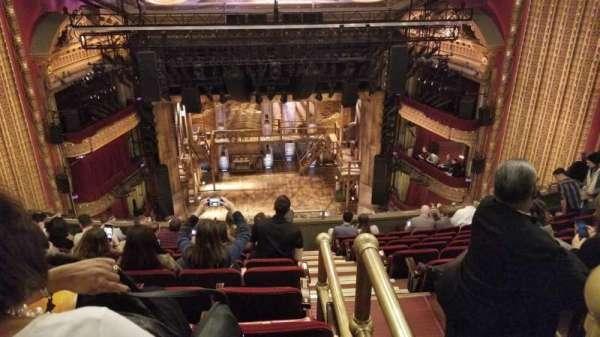 CIBC Theatre, section: Balcony LC, row: K, seat: 401