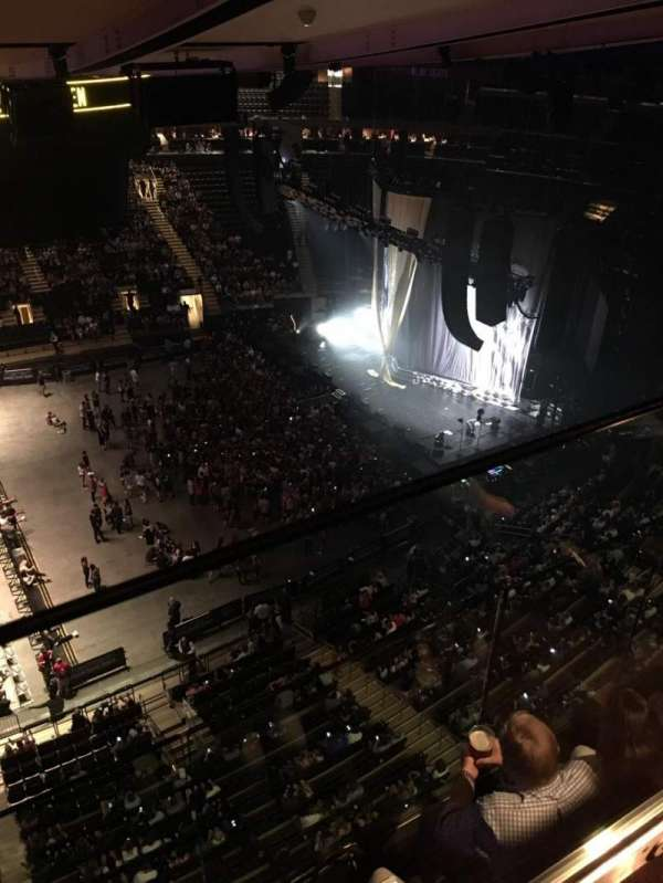 Madison Square Garden, section: 313, row: 2, seat: 2