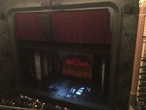 New York City Center, section: Balcony, row: A, seat: 140