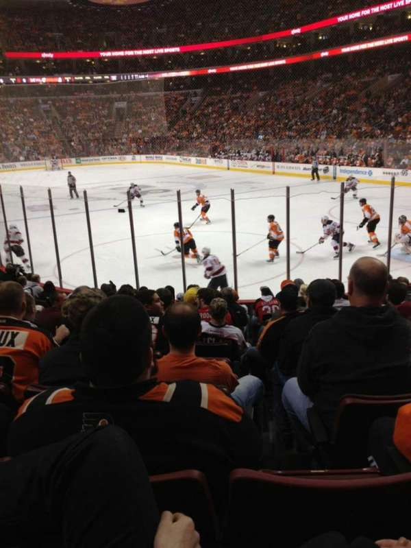 Wells Fargo Center, section: 117, row: 13, seat: 12