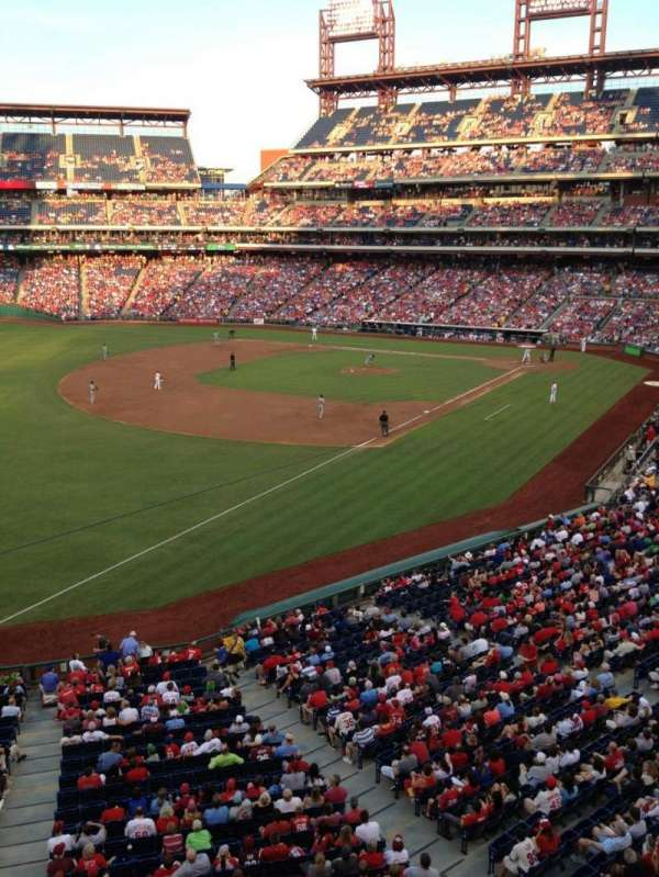 Citizens Bank Park, section: 235, row: 1, seat: 15