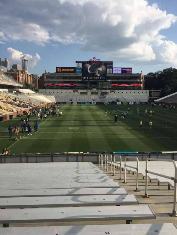 Bobby Dodd Stadium, section: 118, row: 23, seat: 20
