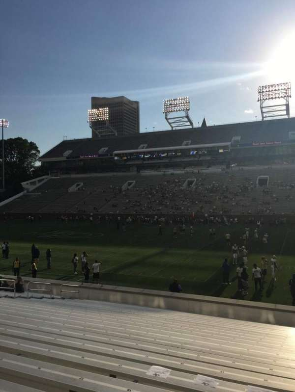 Bobby Dodd Stadium, section: 123, row: 22, seat: 21