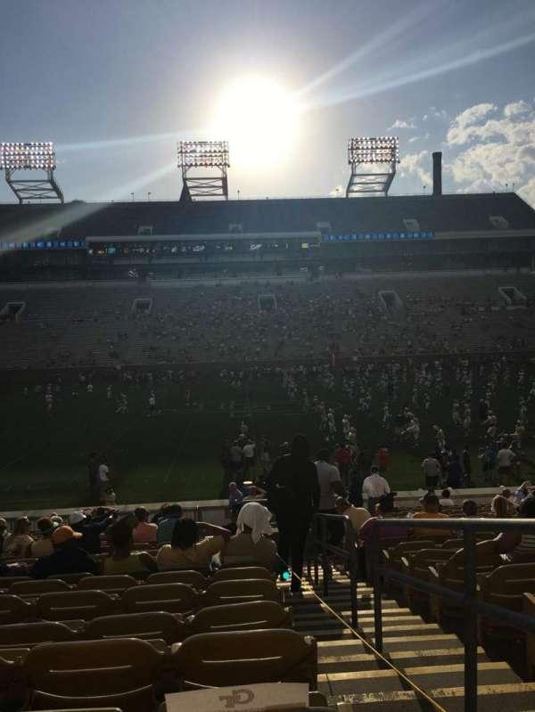 Bobby Dodd Stadium, section: CL3, row: 23, seat: 28