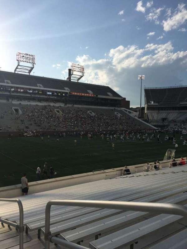 Bobby Dodd Stadium, section: 130, row: 22, seat: 23
