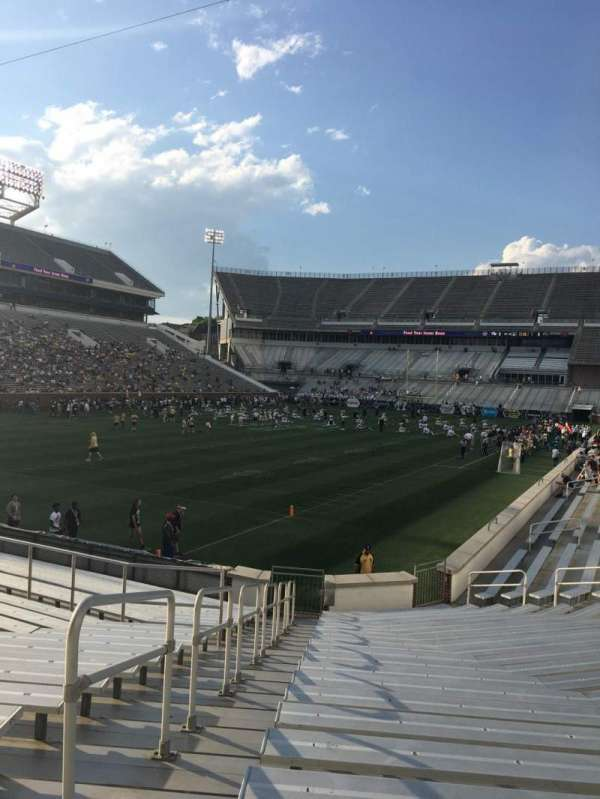 Bobby Dodd Stadium Section 131 Home Of Georgia Tech Yellow Jackets Atlanta United