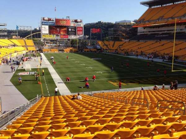 Heinz Field, section: 120, row: UU, seat: 10