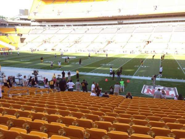 Heinz Field, section: 137, row: T, seat: 10