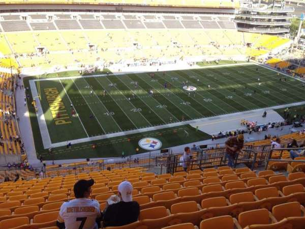 Heinz Field, section: 530, row: S, seat: 10