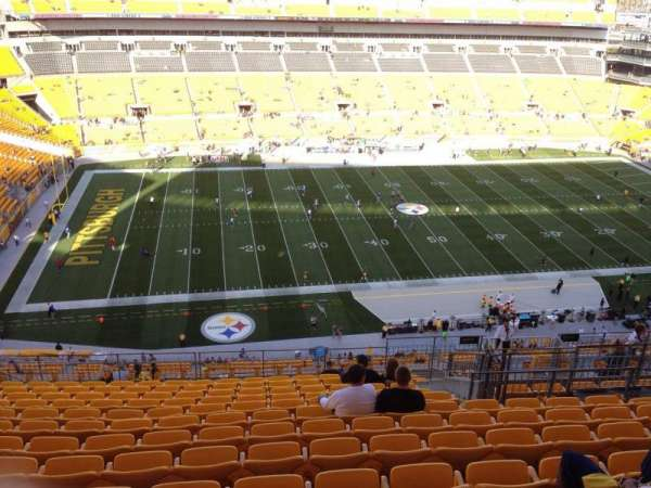 Heinz Field, section: 532, row: S, seat: 10
