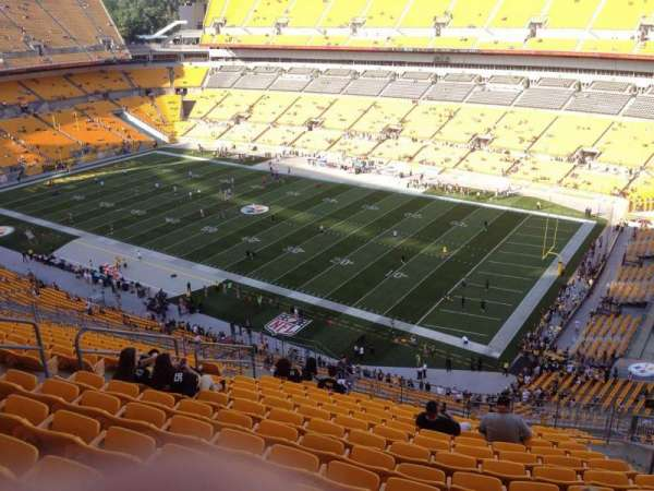 Heinz Field, section: 540, row: S, seat: 10