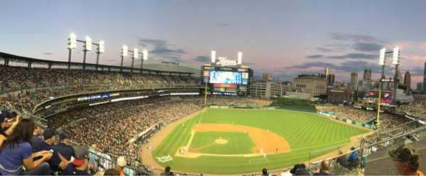 Comerica Park, section: 323, row: 4, seat: 10