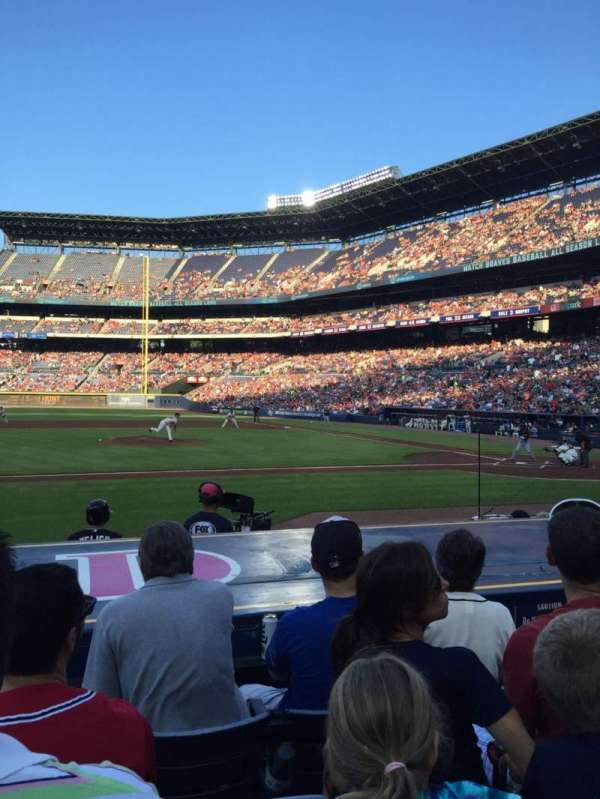 Turner Field, section: 112, row: 9, seat: 6