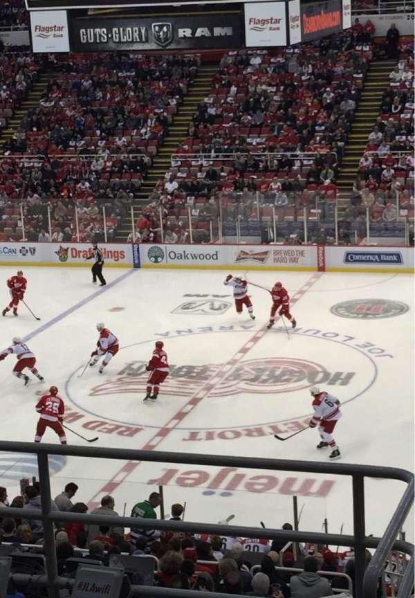 Joe Louis Arena, section: 220, row: 6, seat: 13