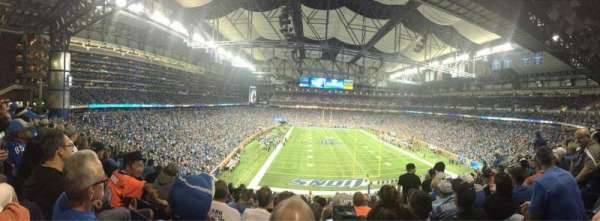 Ford Field, section: 217, row: 10, seat: 15
