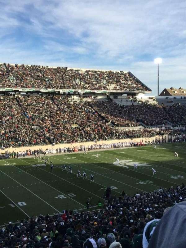 Spartan Stadium, section: 27, row: 55, seat: 4