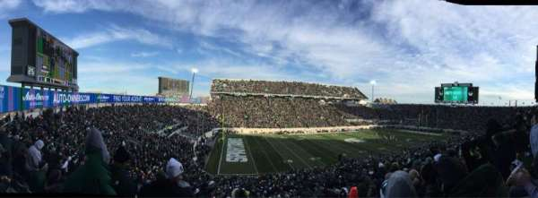 Spartan Stadium, section: 27, row: 55, seat: 3