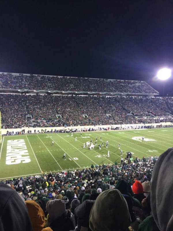 Spartan Stadium, section: 27, row: 55, seat: 2