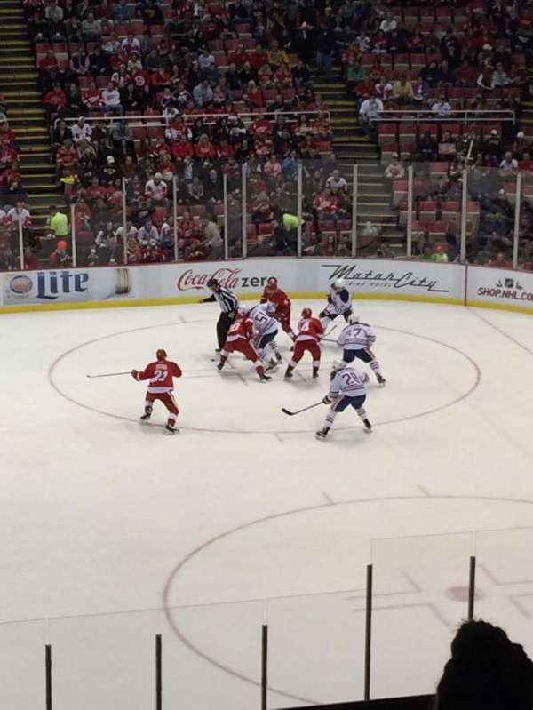 Joe Louis Arena, section: 220, row: 6, seat: 12