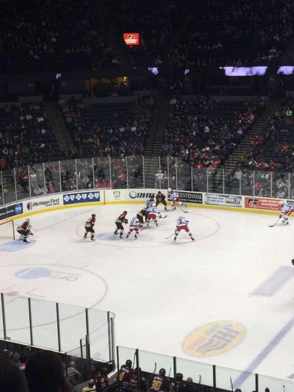 Van Andel Arena, section: 222, row: E, seat: 9