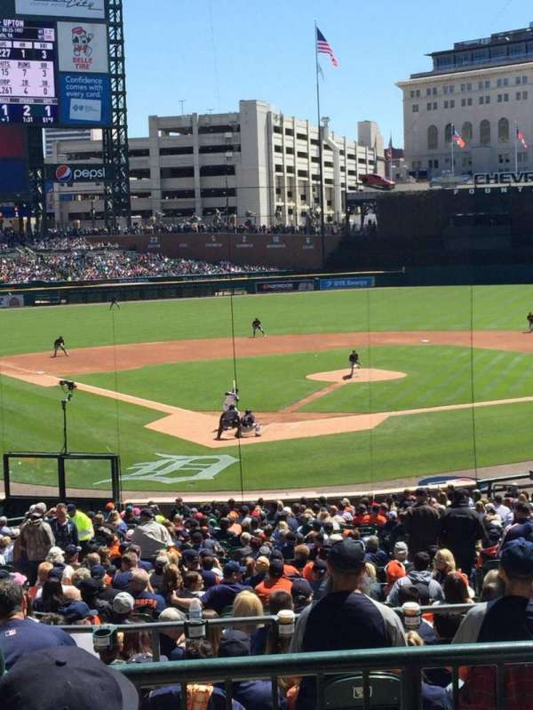Comerica Park, section: 126A, row: C, seat: 3