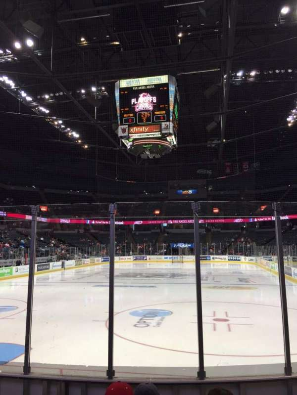 Van Andel Arena, section: 114, row: E, seat: 6