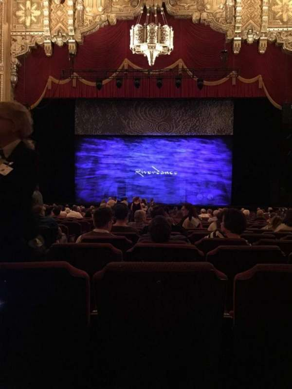 Fox Theatre (Detroit), section: F4, row: AA, seat: 401