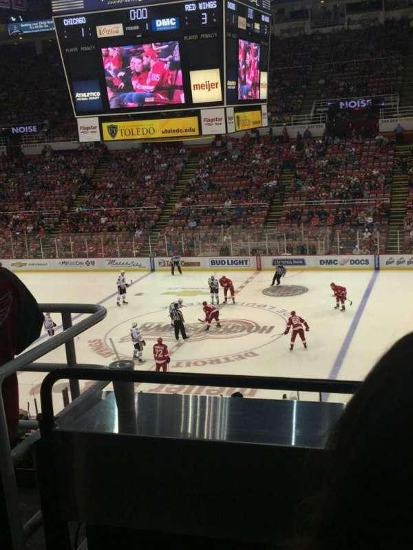 Joe Louis Arena, section: 220, row: 3, seat: 6
