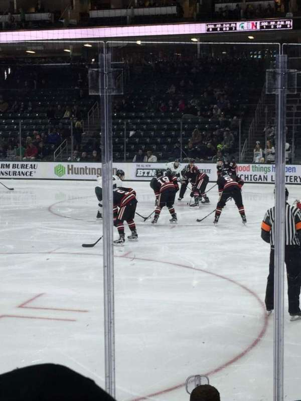 Munn Ice Arena, section: F, row: 6, seat: 1