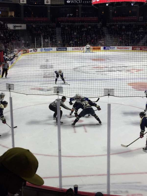 WFCU Centre, section: 110, row: H, seat: 5