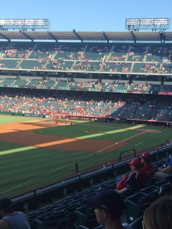 Angel Stadium, section: C306, row: G, seat: 11