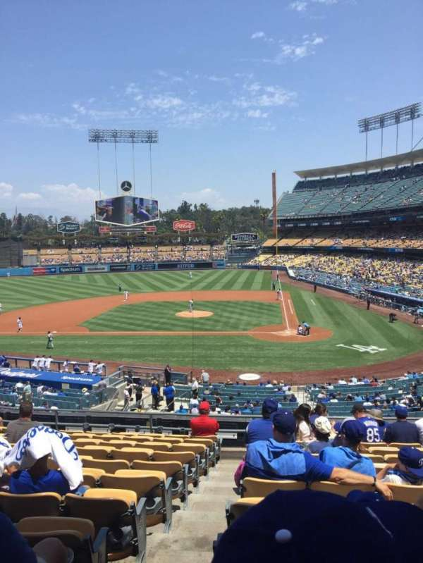Dodger Stadium, section: 119LG, row: L, seat: 7