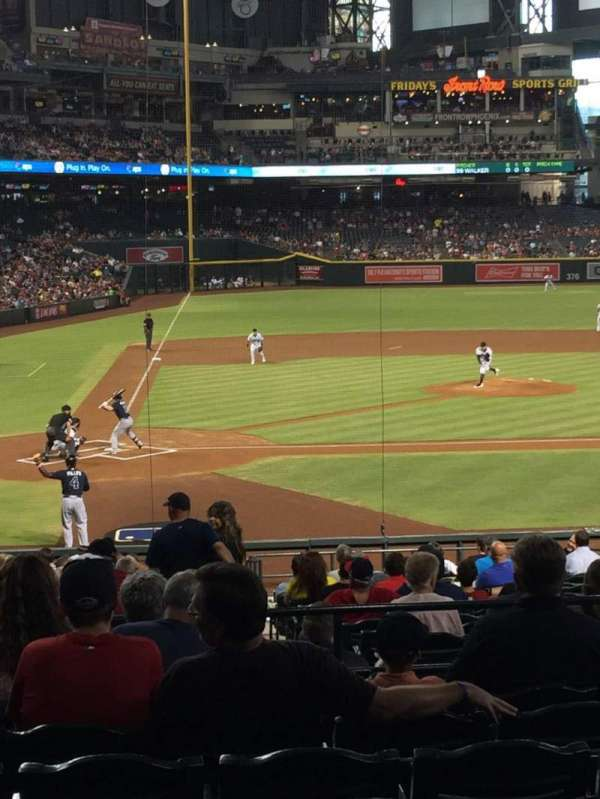 Chase Field, section: 118, row: 29, seat: 10
