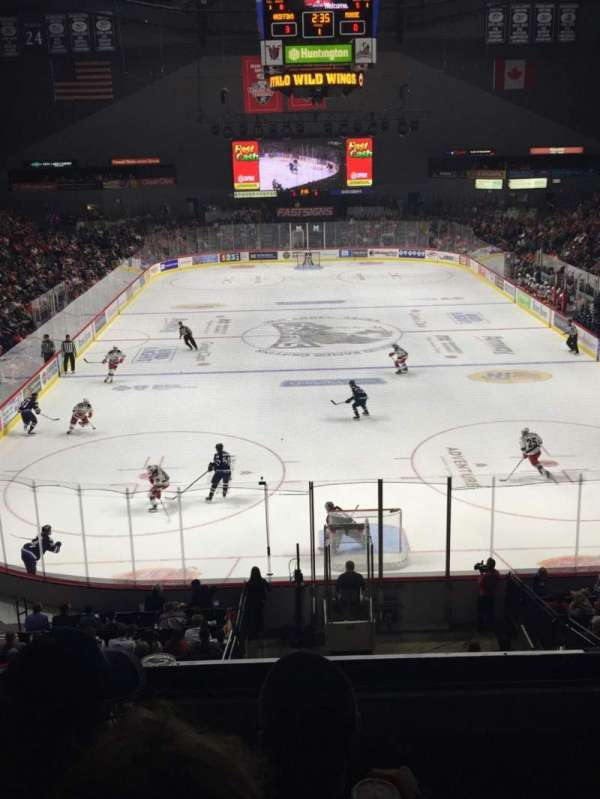 Van Andel Arena, section: 201, row: C, seat: 15
