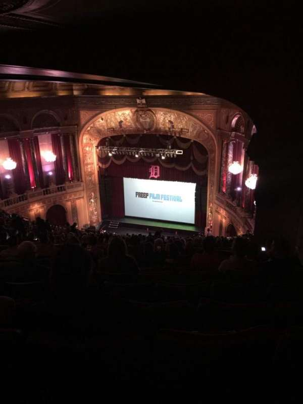 The Fillmore Detroit, section: Upper balcony, row: W, seat: 1