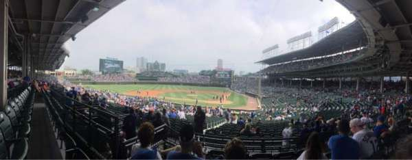 Wrigley Field, section: 214, row: 5, seat: 15