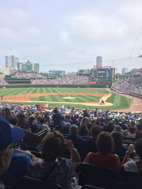 Wrigley Field, section: 214, row: 5, seat: 116