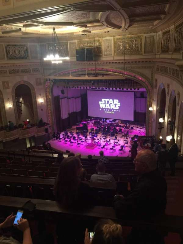 Orchestra Hall, section: MidBalc, row: K, seat: 43